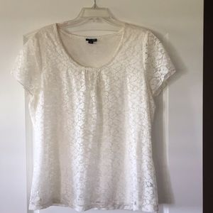 Gently used Women's lace blouse